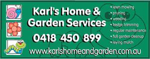 Karls Home & Garden Services
