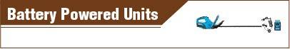Battery Powered Units